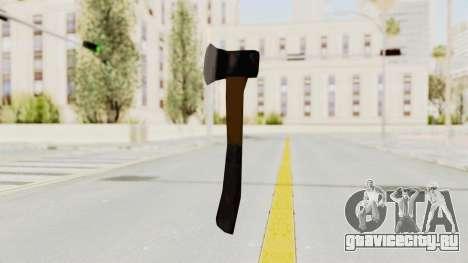 Liberty City Stories Handaxe для GTA San Andreas третий скриншот
