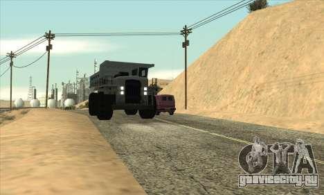 Обновленный трафик для GTA San Andreas третий скриншот