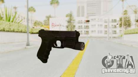 Glock 19 Gen4 Flashlight для GTA San Andreas второй скриншот