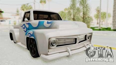 GTA 5 Slamvan Stock PJ1 для GTA San Andreas