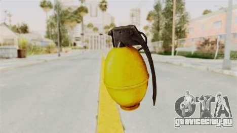 Grenade Gold для GTA San Andreas второй скриншот