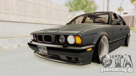 BMW M5 E34 USA для GTA San Andreas вид справа