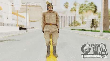 MGSV The Phantom Pain Soviet Union Radioman NVG для GTA San Andreas второй скриншот