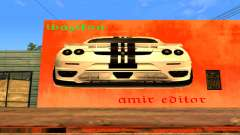 Ferrari Wall Graffiti для GTA San Andreas
