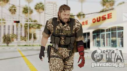 MGSV The Phantom Pain Venom Snake No Eyepatch v8 для GTA San Andreas