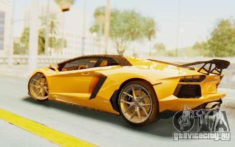 Lamborghini Aventador LP700-4 DMC для GTA San Andreas вид сзади слева