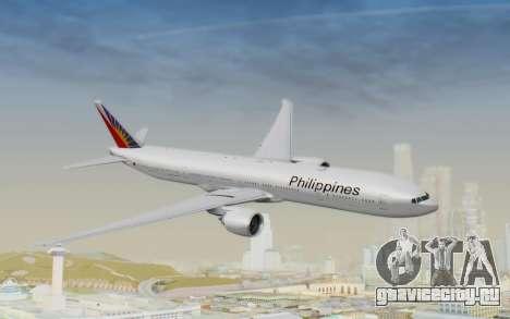 Boeing 777-300ER Philippine Airlines для GTA San Andreas