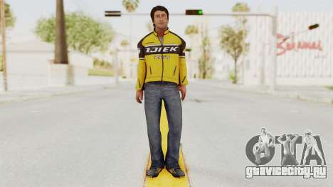 Dead Rising 3 Nick Ramos on Chucks Outfit для GTA San Andreas второй скриншот