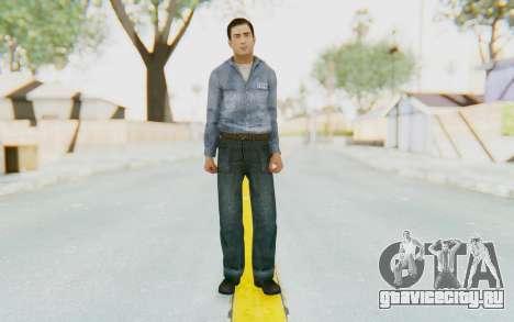 Mafia 2 - Vito Scaletta Prison Short Hair для GTA San Andreas второй скриншот