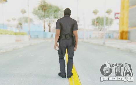 CoD BO2 LAPD v2 для GTA San Andreas третий скриншот