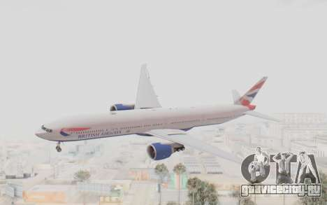 Boeing 777-300ER British Airways для GTA San Andreas
