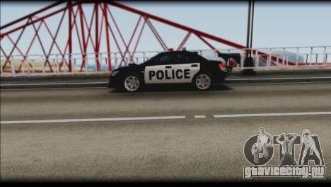 Subaru Impreza WRX STi Police Drift для GTA San Andreas вид справа