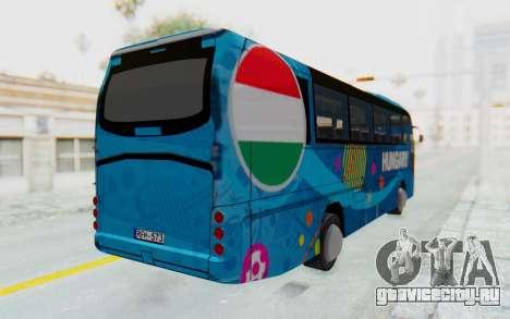 Neoplan Euro 2016 Hungarian Bus для GTA San Andreas вид сзади слева
