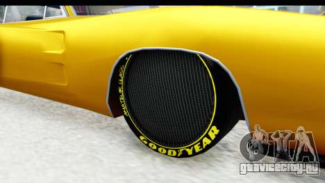Dodge Charger 1969 Max Speed для GTA San Andreas вид сзади