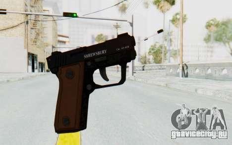 GTA 5 Shrewsbury SNS Pistol для GTA San Andreas второй скриншот