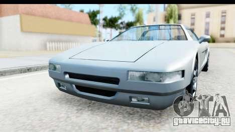 New Infernus для GTA San Andreas вид сзади слева