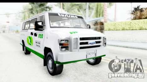 Ford Econoline 150 для GTA San Andreas