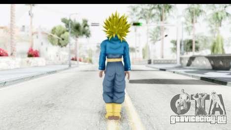Dragon Ball Xenoverse Future Trunks SSJ2 для GTA San Andreas третий скриншот