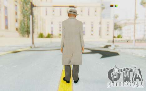 Mafia 2 - Jimmy Vendetta White Suit для GTA San Andreas третий скриншот