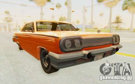 GTA 5 Declasse Voodoo Alternative v1 PJ для GTA San Andreas вид справа