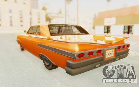 GTA 5 Declasse Voodoo Alternative v1 PJ для GTA San Andreas вид слева