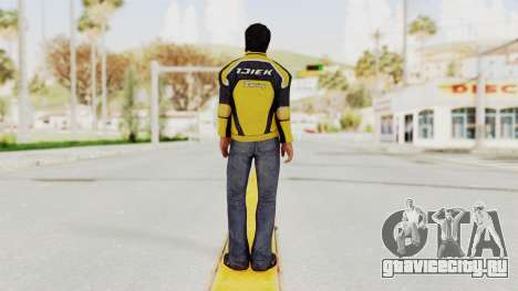 Dead Rising 3 Nick Ramos on Chucks Outfit для GTA San Andreas третий скриншот