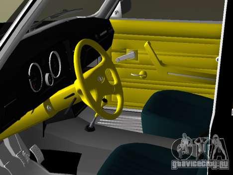 ВАЗ 2105 для GTA Vice City вид сзади слева