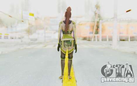 Dynasty Warriors 7 - Lian Shi v2 для GTA San Andreas третий скриншот