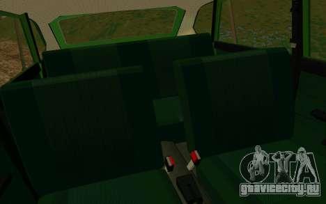 ИЖ-412 Комби для GTA San Andreas вид сбоку