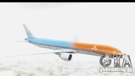 Boeing 777-300ER KLM Orange Pride для GTA San Andreas