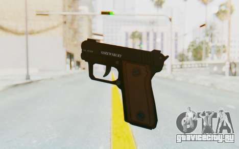 GTA 5 Shrewsbury SNS Pistol для GTA San Andreas третий скриншот