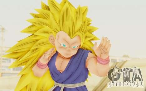 Dragon Ball Xenoverse Goku Kid GT SSJ3 для GTA San Andreas