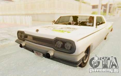 GTA 5 Declasse Voodoo Alternative v1 PJ для GTA San Andreas вид сбоку