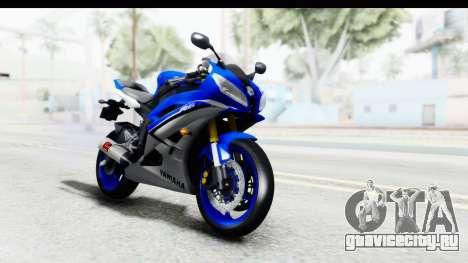 Yamaha YZF-R6 2006 with 2015 Livery для GTA San Andreas