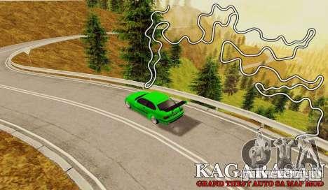Kagarasan Трек для GTA San Andreas
