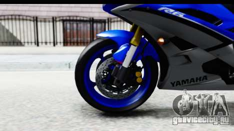Yamaha YZF-R6 2006 with 2015 Livery для GTA San Andreas вид сзади