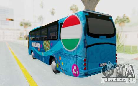 Neoplan Euro 2016 Hungarian Bus для GTA San Andreas вид слева