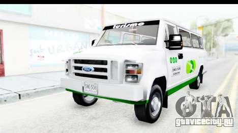 Ford Econoline 150 для GTA San Andreas вид сзади