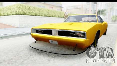 Dodge Charger 1969 Max Speed для GTA San Andreas