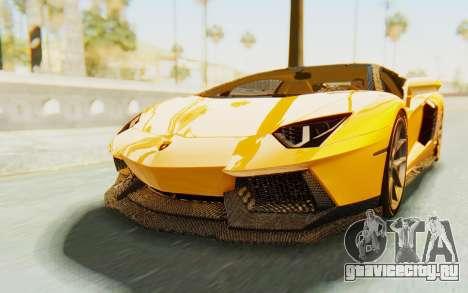 Lamborghini Aventador LP700-4 DMC для GTA San Andreas вид справа