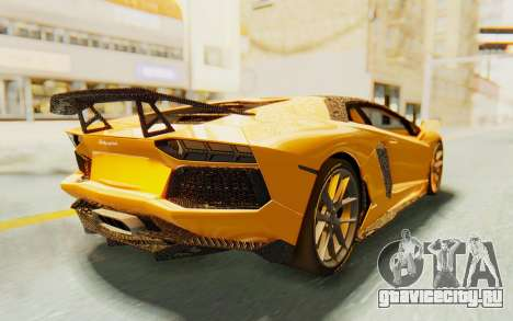 Lamborghini Aventador LP700-4 DMC для GTA San Andreas вид слева