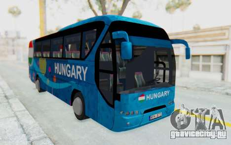 Neoplan Euro 2016 Hungarian Bus для GTA San Andreas вид справа