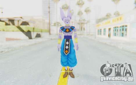 Dragon Ball Xenoverse Beerus для GTA San Andreas второй скриншот