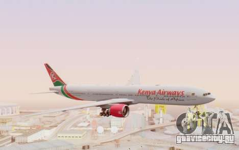 Boeing 777-300ER Kenya Airways для GTA San Andreas