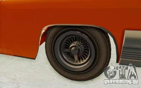 GTA 5 Declasse Voodoo Alternative v1 PJ для GTA San Andreas вид сзади