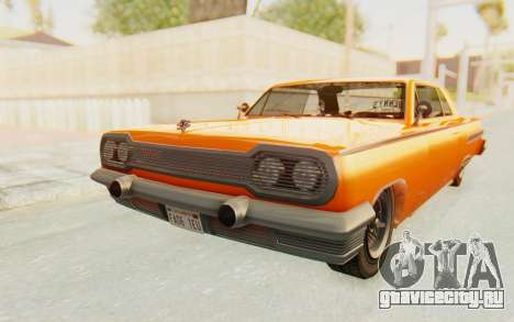 GTA 5 Declasse Voodoo Alternative v1 PJ для GTA San Andreas