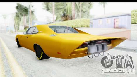 Dodge Charger 1969 Max Speed для GTA San Andreas вид слева