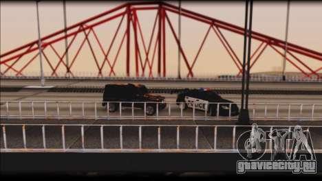 Subaru Impreza WRX STi Police Drift для GTA San Andreas вид сверху