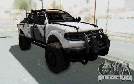 Toyota Hilux Technical MNU для GTA San Andreas