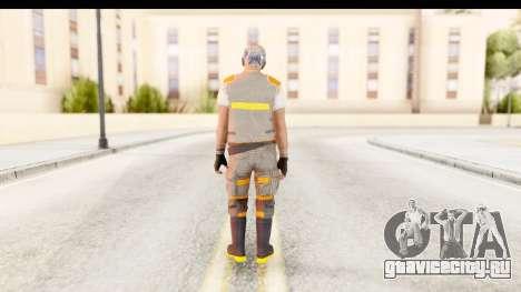 COD AW - John Malkovich Janitor для GTA San Andreas третий скриншот